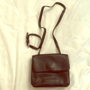 Nine West leather crossbody